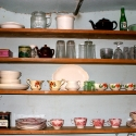 Kitchen Shelves, Frost Cabin