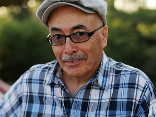 "Juan Felipe Herrera, U.S. Poet Laureate. ""There is so much pain. We all need an embrace."""