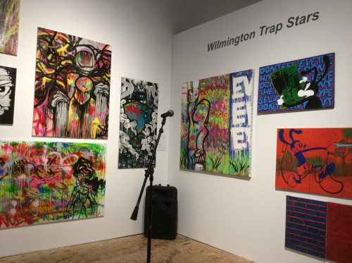 "The stage: ""Wilmington Trap Stars"" open mic event, Delaware Center for the Contemporary Arts"