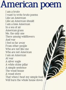 American Poem